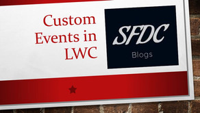 Custom Events in Lightning Web Components
