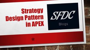 Apex Design Patterns - Strategy Pattern