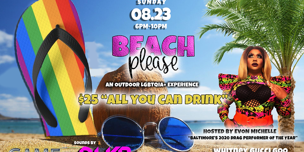 Beach Please! - An Outdoor LGBTQIA+ Event