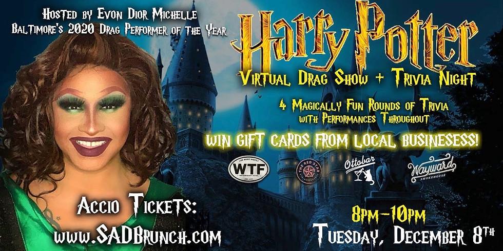 Virtual Harry Potter Trivia & Drag Show