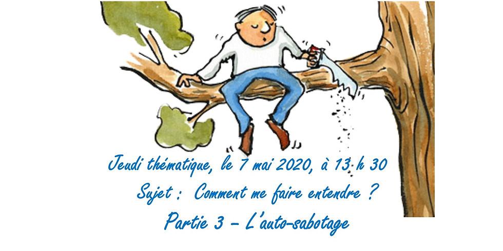 Jeudi thématique - 7 mai 2020