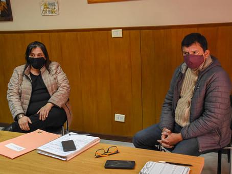 Reunión con la Coordinación Departamental del ANAF