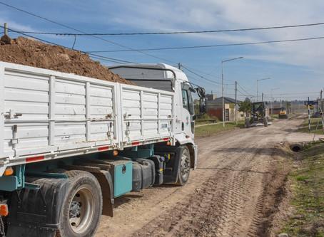 Estabilizado de calles en Barrio Ramírez Norte