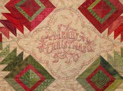 Merry Christmas Runner close-up