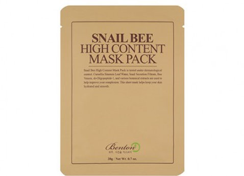 Snail Bee- High content mask pack