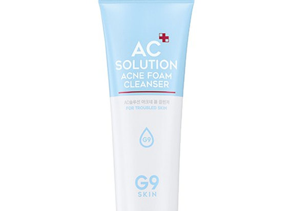 AC Solution ACNE foam cleanser