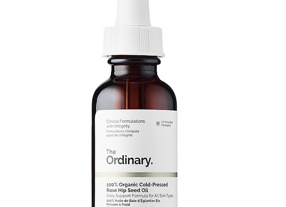 100% Organic Cold -Pressed Rose Hip Seed Oil