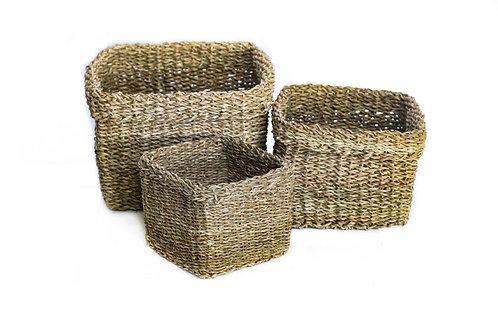Medium Square Folding Cylinder Basket