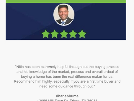 Another 5-Star Zillow review from first time home buyer clients!