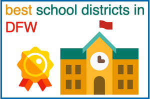 best school districts dfw dallas, top school districts dfw