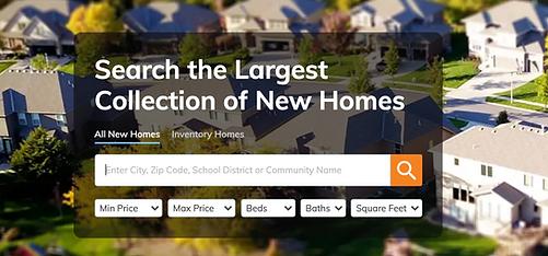 search new homes frisco dallas dfw build