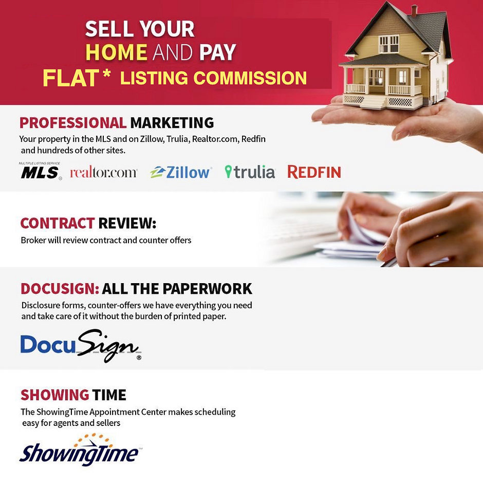 frisco Dallas DFW north texas sell your home for flat fee discount listing broker real estate agent realtor save money redfin