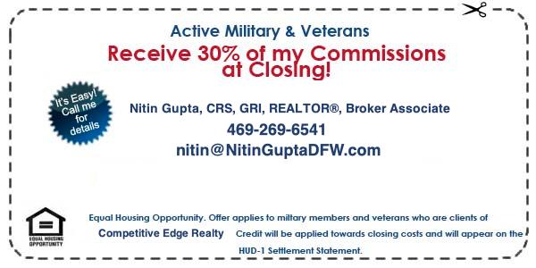 dallas texas veteran home buyer program