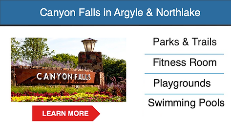 canyon falls master planned community -
