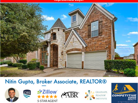 Just Sold! Another home in Frisco to a family relocating to Dallas from Oklahoma!