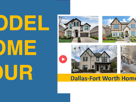 Newsflash: Ready to Move In Model Home From Landon Homes in Frisco, TX Now Available!