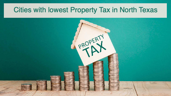 lowest property taxes in North Texas, lowest property tax in dallas, homestead exemption in north texas