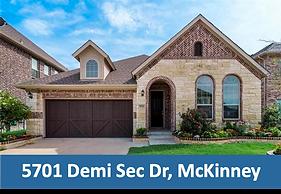5701 Demi Sec Dr McKinney Real Estate Ag