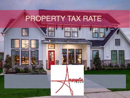 What Is The Property Tax Rate In Argyle, Texas? | Argyle Real Estate Agent