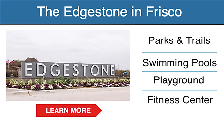 frisco master planned community Edgeston