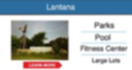 frisco master planned community Lantana