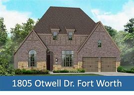 1805 Otwell Dr. Fort Worth - - Top Dalla