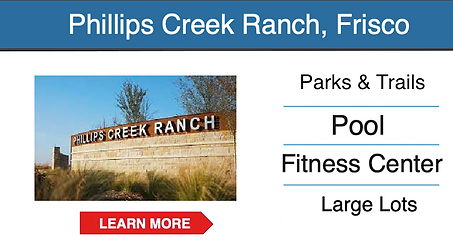 frisco master planned community Phillips