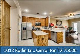 1012 Rodin Ln Carrollton - Top Dallas Li