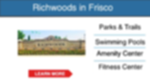 frisco master planned community Richwood