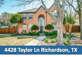 4428 Taylor Ln Richardson, TX 75082 Top