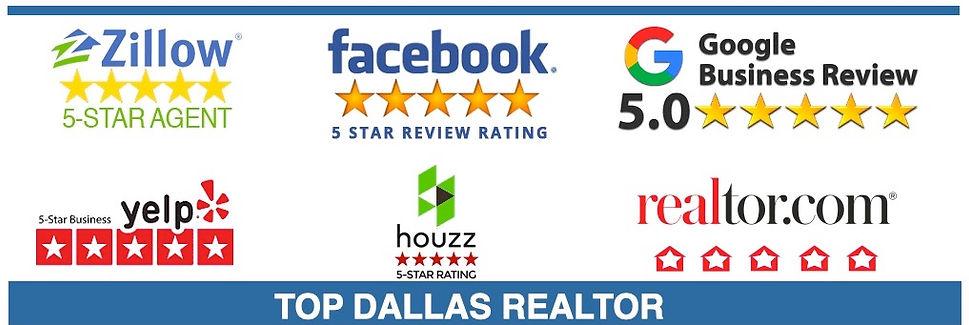 5 star realtor dallas real estate agent