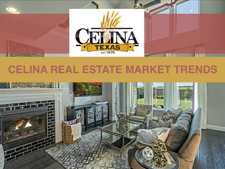 Buying or Selling Celina, TX Real Estate? The Timing Couldn't Be Better