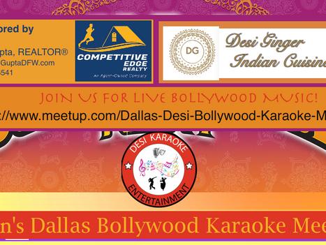 Events Today: Dallas Bollywood Karaoke in Plano