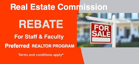 utd utdallas faculty staff employee discount perks cash back rebate realtor real estate agent