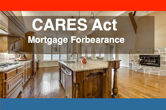 mortgage forbearance coronavirus texas dallas houston austin san antonio