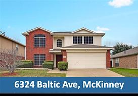 6324 Baltic Ave McKinney, TX 75070 Top