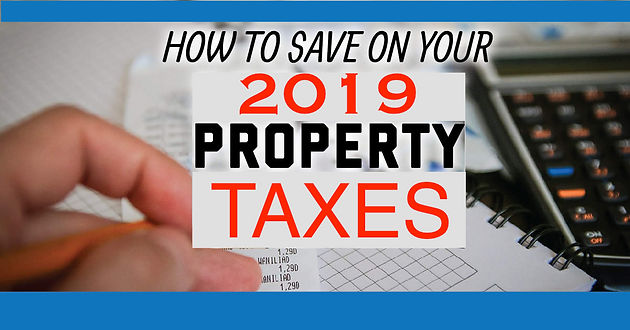 Save Money On Your 2019 Property Taxes in Dallas County