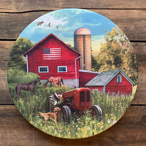 2020 Farmer's Field Collectible Holiday Tin (Dark Chocolate Almond - 24 oz)