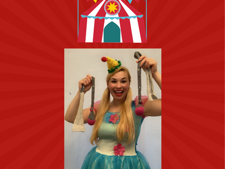 A Circus Themed Zoom Virtual Party! 🎪