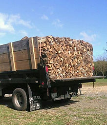 Seasoned Firewood ready for delivery