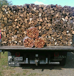 Seasoned Firewood and Kindling Bundles