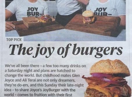 JoyBurger Pop-Up Restaurant - The Story