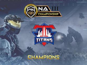 Congrats NY Titans NA Champions