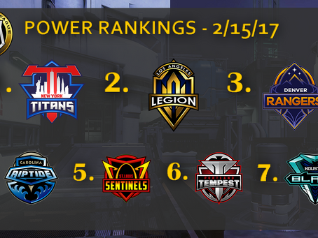 2/12 Recap and Power Rankings
