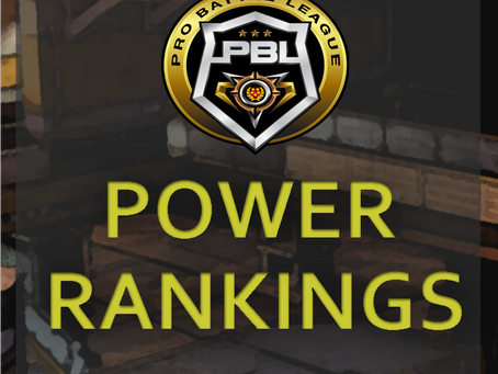 POWER RANKINGS 9/8