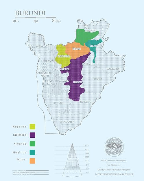Burundi -Mbirizi - Kayanza - Kayanza