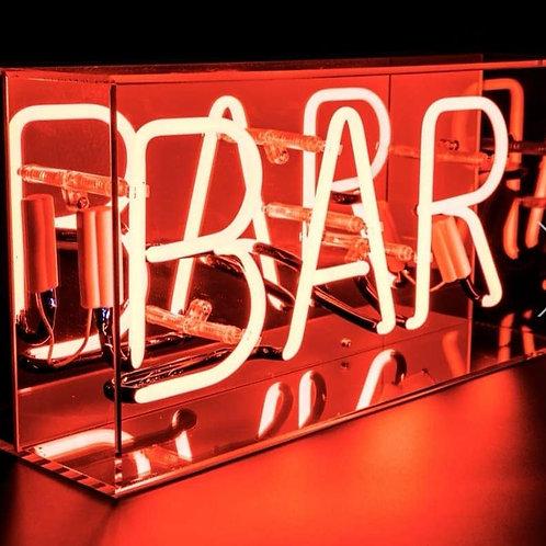 Bar - Acrylic Box Neon Light
