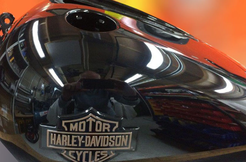 harley tank after