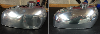 Aluminium alloy tank