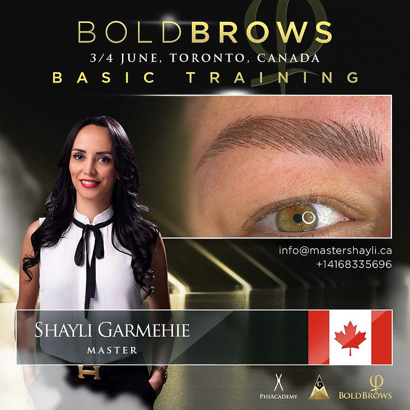 Boldbrows Training Toronto June 2021